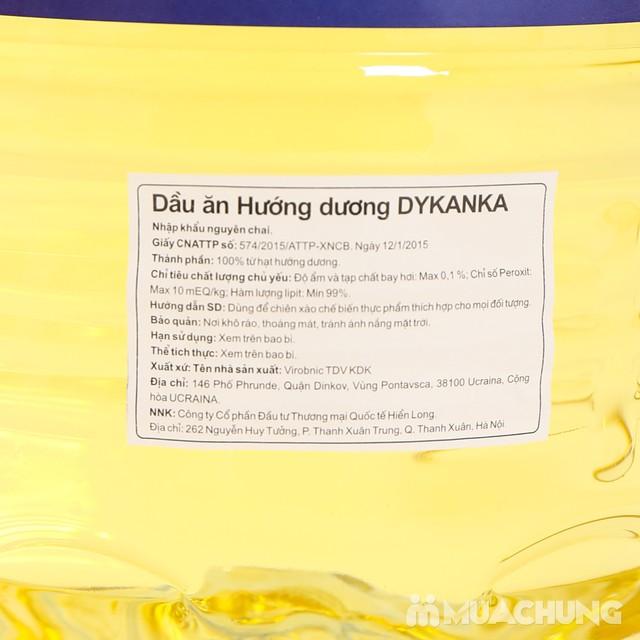 5 lít Dầu hướng dương Dykanka tốt cho tim mạch - 7
