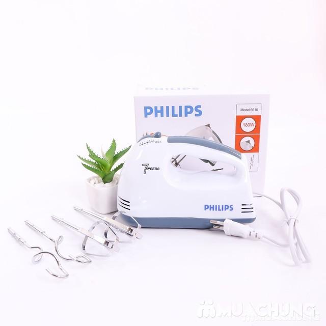 Máy đánh trứng, bột cầm tay Philips 6610 - 7