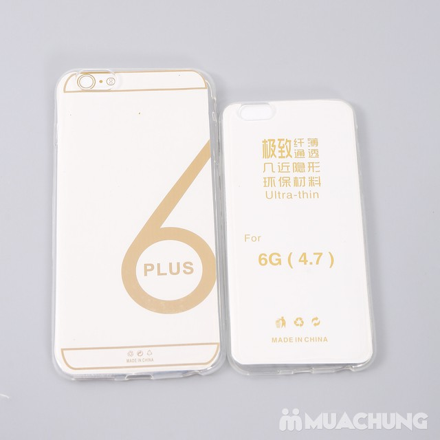Combo 3 ốp silicon cho Iphone 6, 6S hoặc 6 Plus - 6