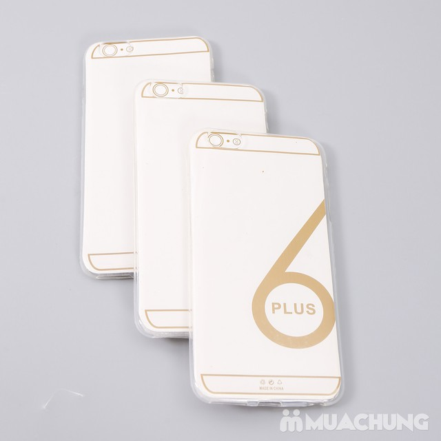 Combo 3 ốp silicon cho Iphone 6, 6S hoặc 6 Plus - 1