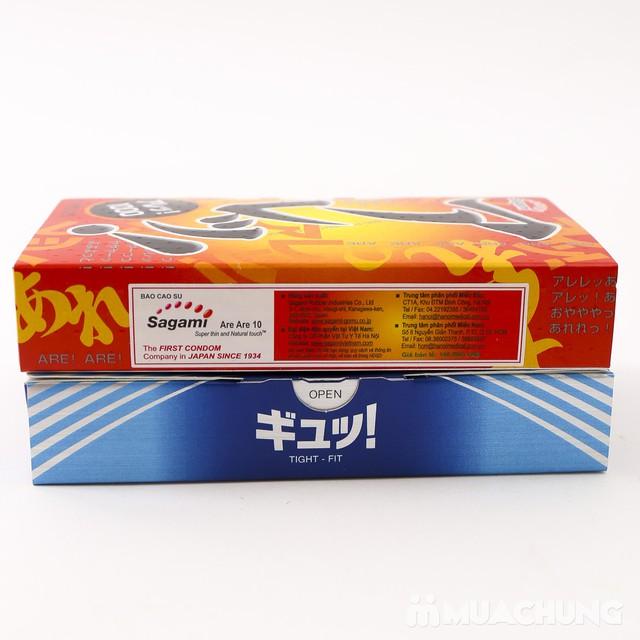 2 hộp bao cao su Sagami Tight Fit, AreAre 10 Japan - 11