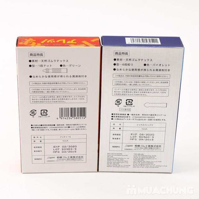 2 hộp bao cao su Sagami Tight Fit, AreAre 10 Japan - 10