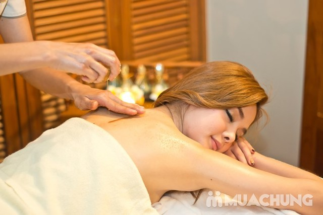 Massage body đá nóng + Ủ dưỡng sữa non, kem nghệ Lê Vân Spa & Beauty Salon - 3