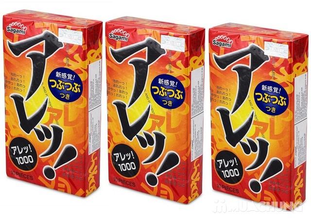 2 hộp bao cao su Sagami Tight Fit, AreAre 10 Japan - 8