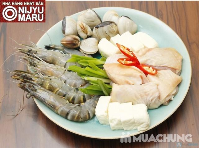 Buffet Lẩu Nhật Bản tại nhà hàng Nijyu Maru - 15
