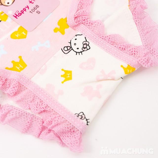 Combo 5 quần chip cotton Hello Kitty cho bé gái - 3