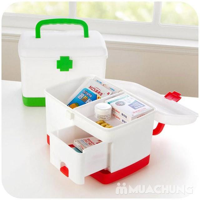 Hộp đựng thuốc và dụng cụ y tế cho gia đình - 4