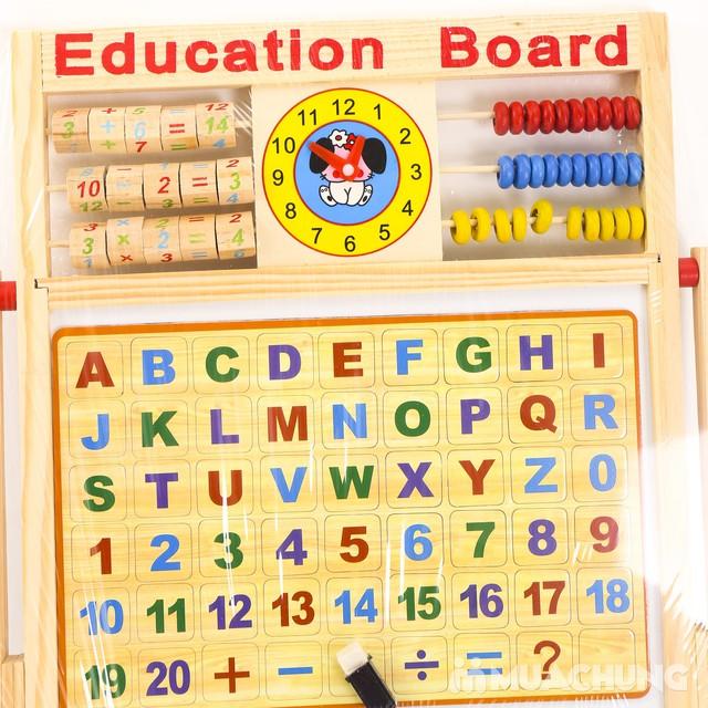 Bảng học đa năng 2 mặt cho bé đọc, viết, làm tính - 4