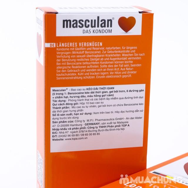 2 hộp bao cao su Masculan Long Pleasure Special - 7