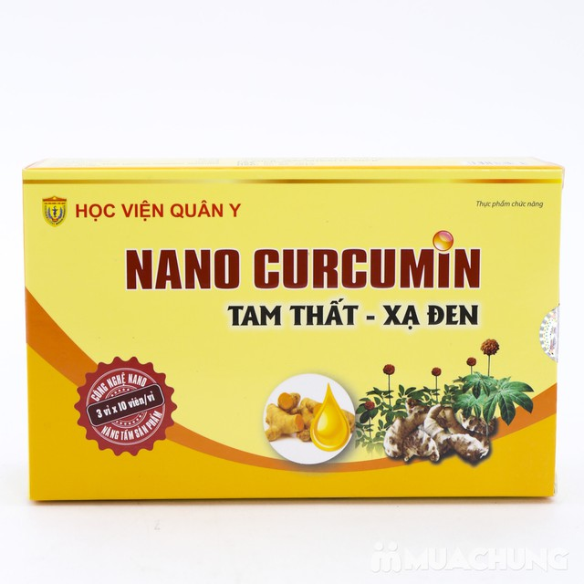 Nano Curcumin Tam Thất  - Xạ đen Học viện Quân Y - 9