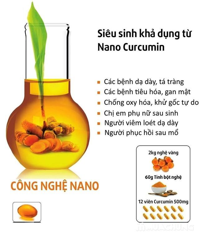 Giảm đau dạ dày, hành tá tràng với Nanocurcumin - 8