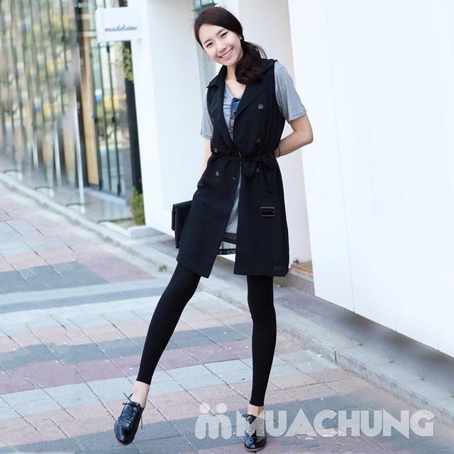 Tự tin khoe chân thon với quần legging cotton - 7