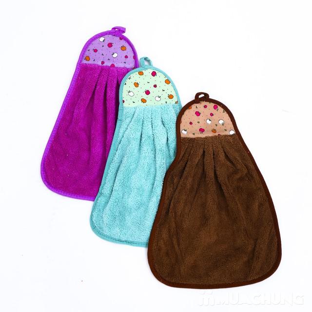 Combo 3 khăn lau tay, dạng treo nhà bếp- hàng VN - 10