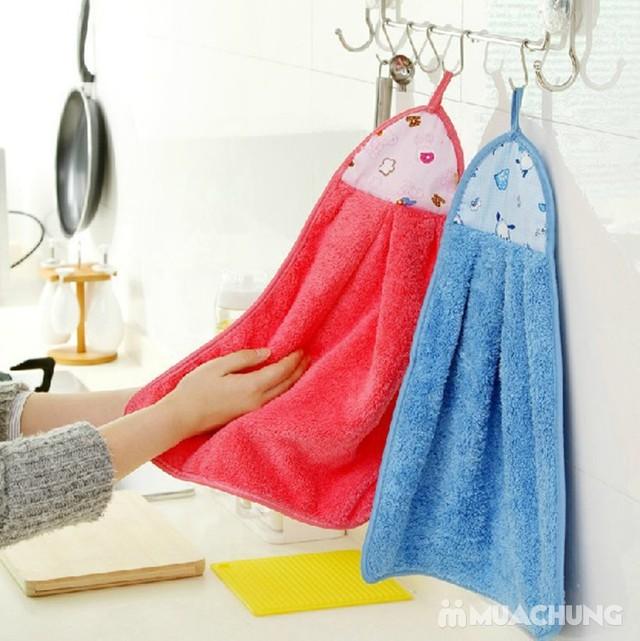 Combo 3 khăn lau tay, dạng treo nhà bếp- hàng VN - 4