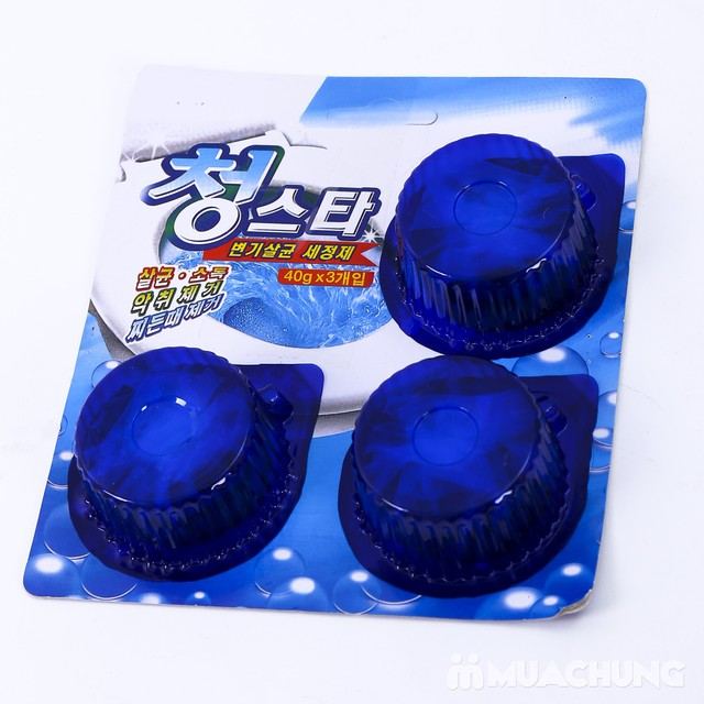 Combo 6 viên tẩy vệ sinh bồn cầu Blue Star - 7
