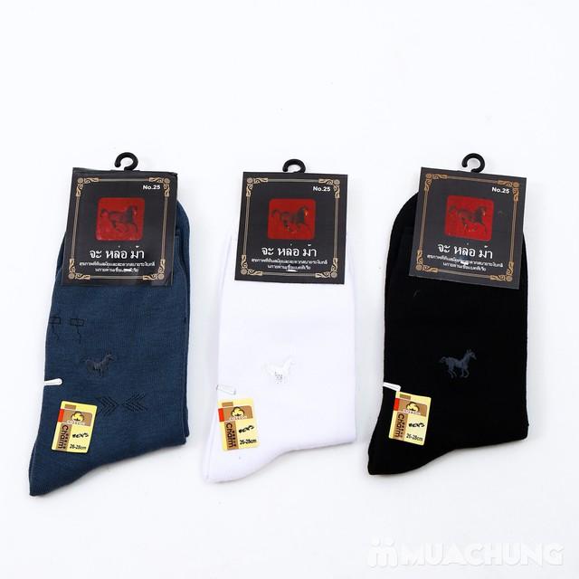 Combo 6 đôi tất cao cổ dày dặn Thái Lan - 15