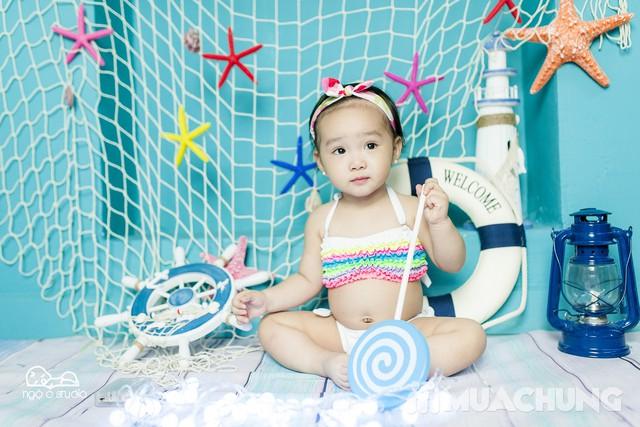 Gói chụp ảnh hấp dẫn cho bé tại Ngộ O Studio - 1