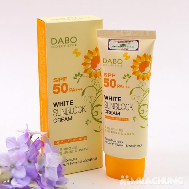 Kem chống nắng dưỡng da DABO cao cấp Hàn Quốc - 5