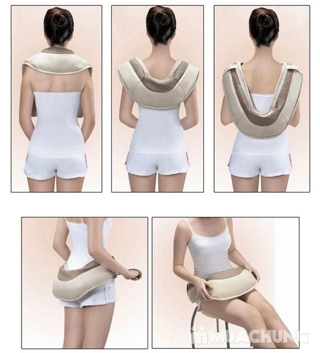 Đai massage đấm lưng vai cổ Neck W-808 - 5