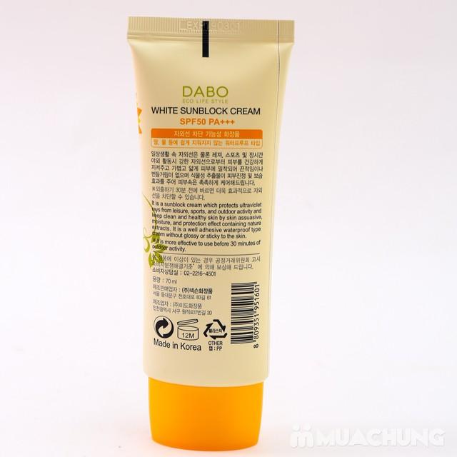 Kem chống nắng dưỡng da DABO cao cấp Hàn Quốc - 6