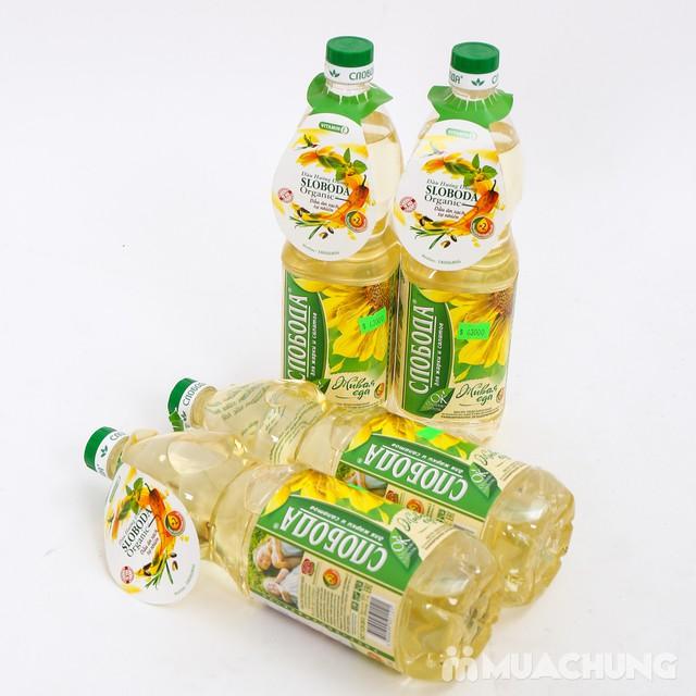 Combo 4 chai dầu hướng dương Organic Sloboda - 10