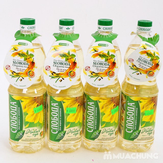 Combo 4 chai dầu hướng dương Organic Sloboda - 7