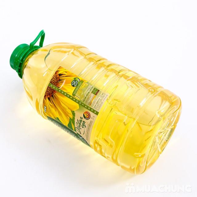 3 lít dầu hướng dương Organic Sloboda - NK Nga - 3