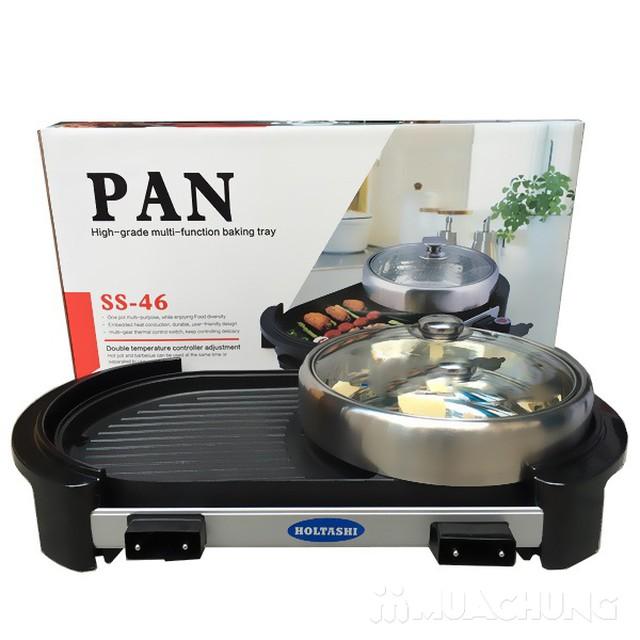 Bếp lẩu +  nướng Pan tiện ích 2 trong 1 - 1