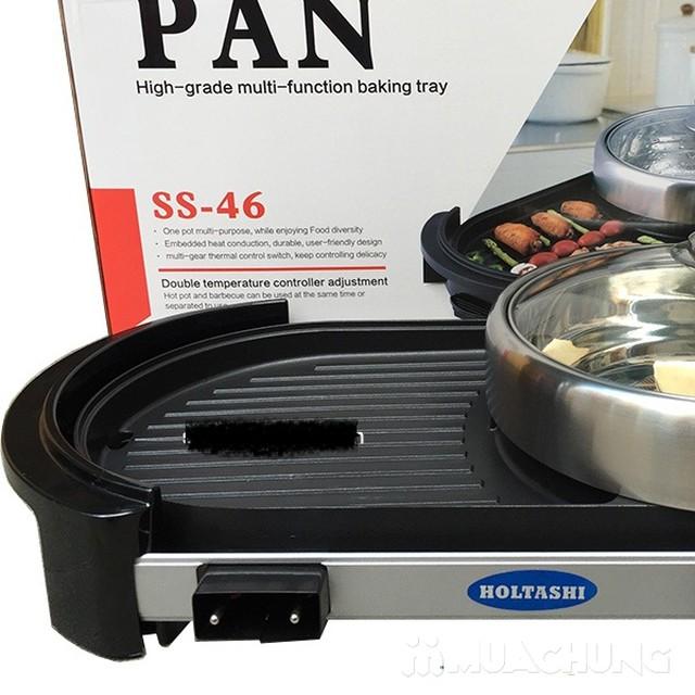 Bếp lẩu +  nướng Pan tiện ích 2 trong 1  - 4