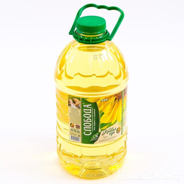 3 lít dầu hướng dương Organic Sloboda - NK Nga - 2