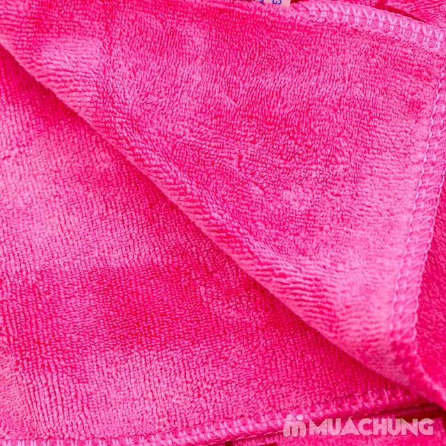 Set 3 khăn nhà tắm sợi cotton mềm mịn cho bé  - 12