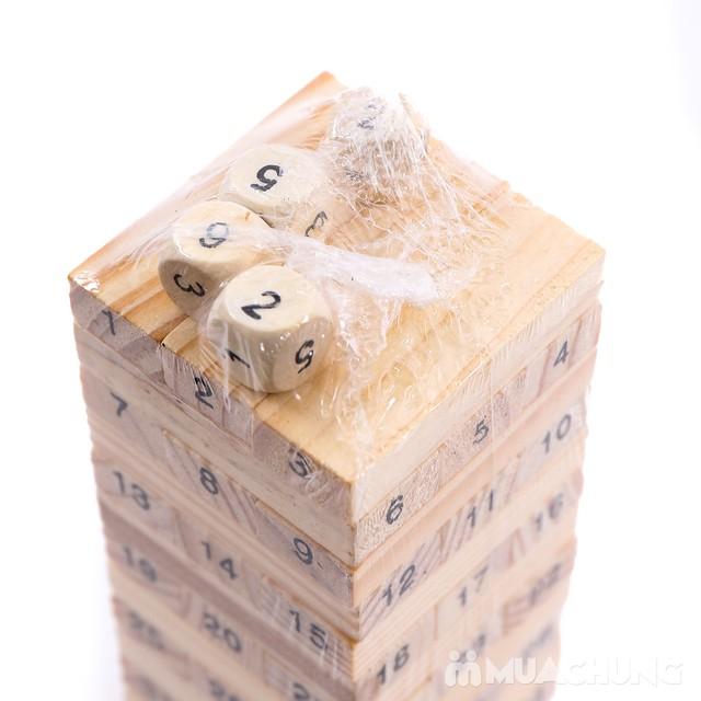 Bộ trò chơi rút gỗ 54 thanh- luyện khéo tay cho bé - 2