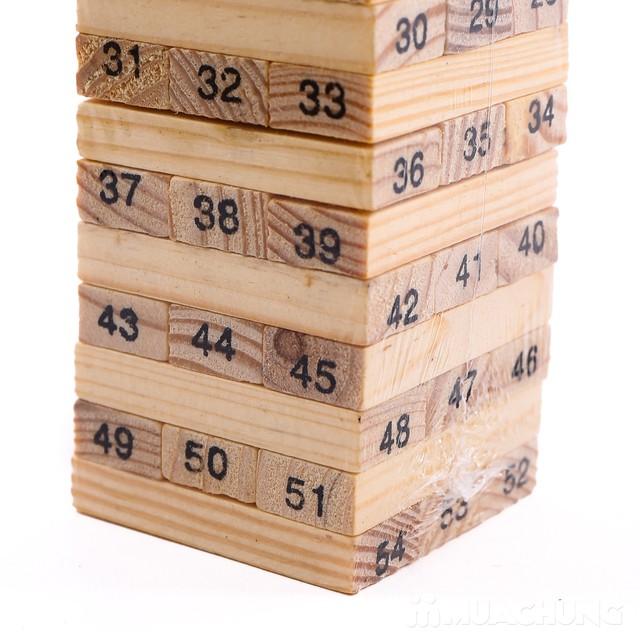 Bộ trò chơi rút gỗ 54 thanh- luyện khéo tay cho bé - 3