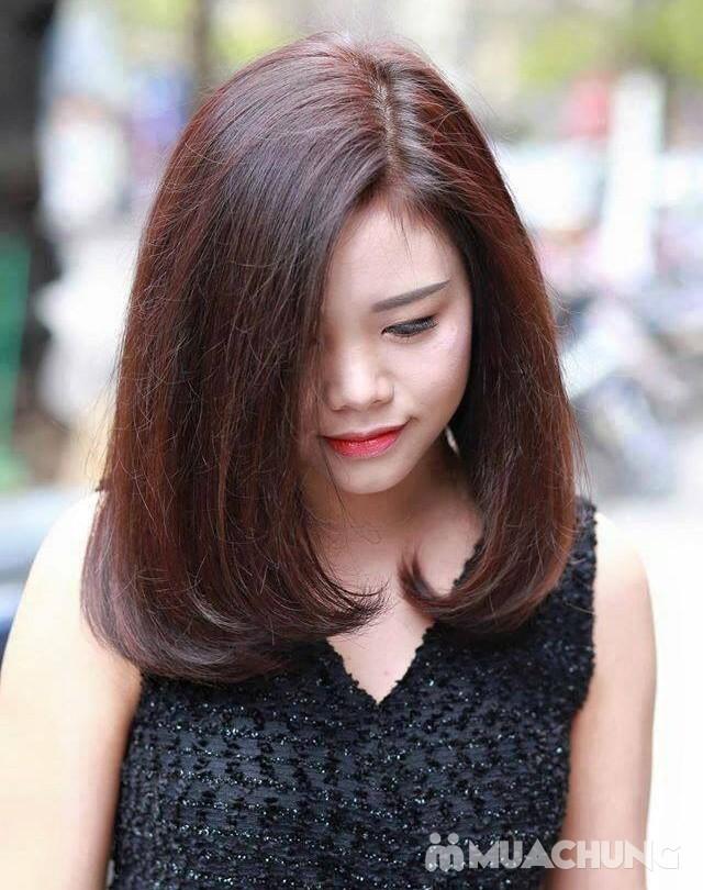 Gói làm tóc cao cấp tặng hấp/ ép chân cho bạn gái - 9