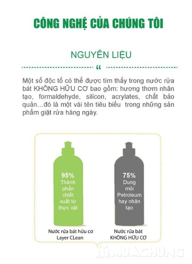 Nước giặt hữu cơ, Nước lau sàn- Tặng nước rửa chén - 3