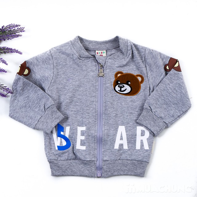 Bộ quần áo gấu 3 chi tiết ngộ nghĩnh cho bé  - 3