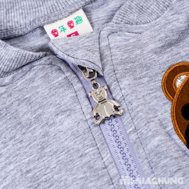 Bộ quần áo gấu 3 chi tiết ngộ nghĩnh cho bé  - 5