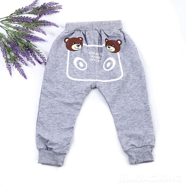 Bộ quần áo gấu 3 chi tiết ngộ nghĩnh cho bé  - 7
