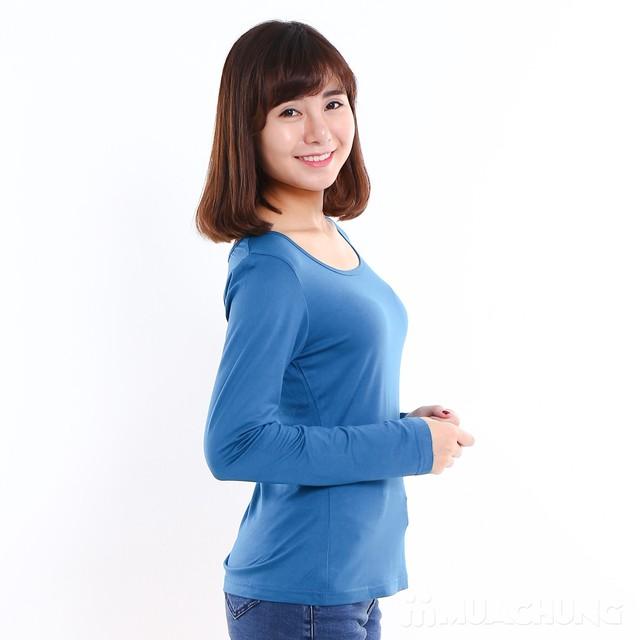 Combo 02 áo cotton giữ nhiệt dài tay - hàng VNXK  - 14