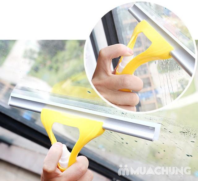 Cây lau kính xầm tay có vòi xịt nước tiện dụng - 15