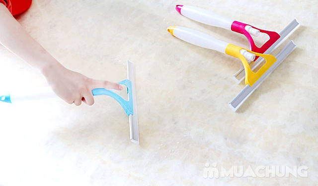 Cây lau kính xầm tay có vòi xịt nước tiện dụng - 11