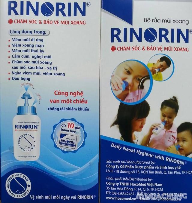 Bình rửa mũi họng Rinorin - 4
