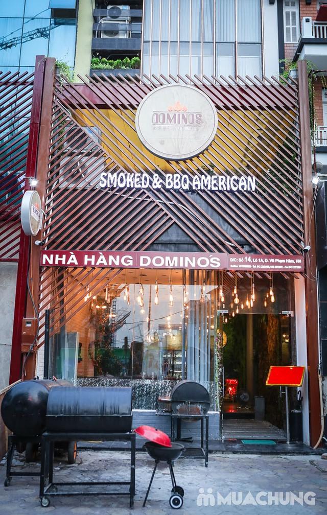 Lẩu nướng kiểu Mỹ đặc biệt tại Domino's Smoked - 11