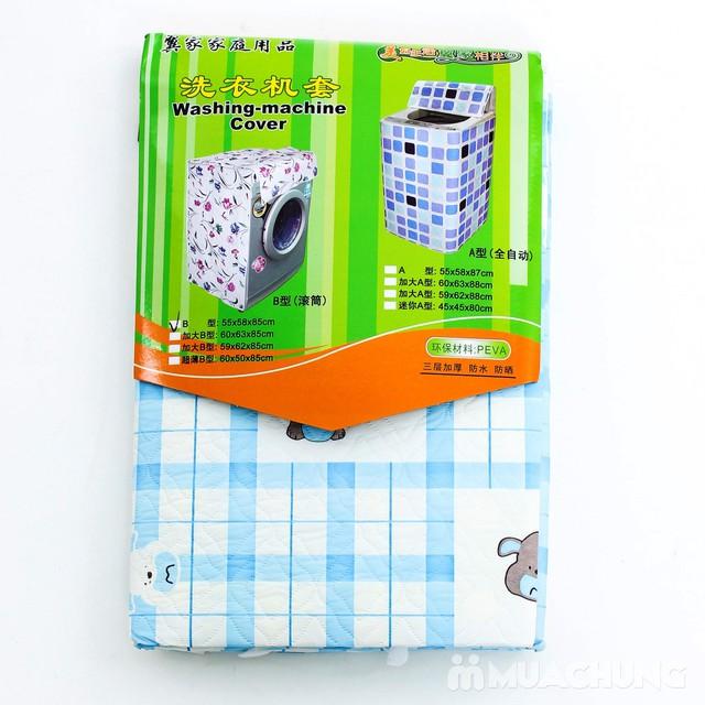 Vỏ bọc máy giặt cửa ngang loại dày 55 x 58 x 85cm - 5
