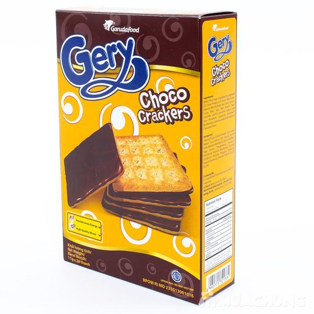 3 hộp bánh quy Gery phủ cacao giòn tan thơm ngậy - 1