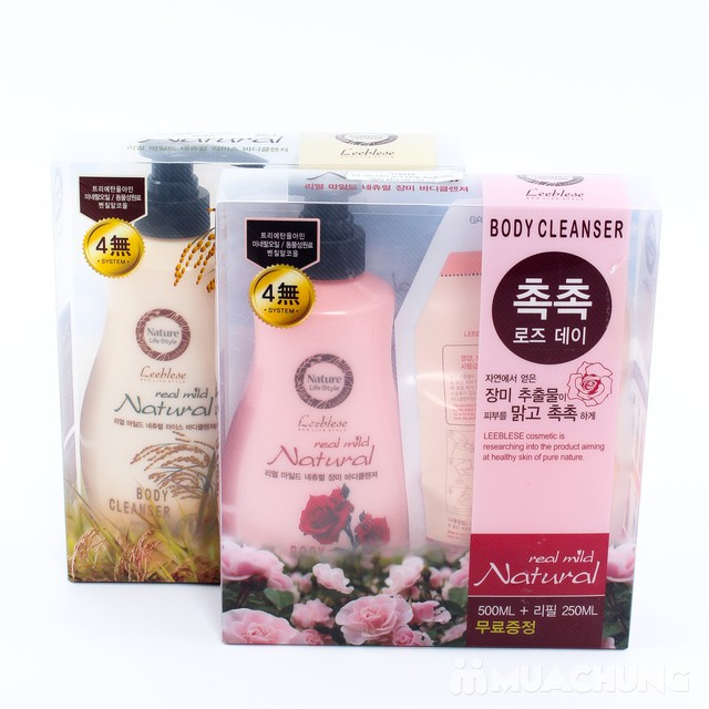 Bộ sữa tắm Hàn Quốc - Quà tặng ý nghĩa - 14