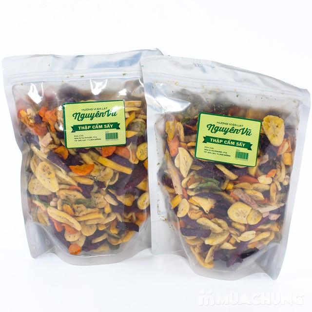 2 gói hoa quả sấy thập cẩm Nguyên Vũ (500gr/gói) - 4