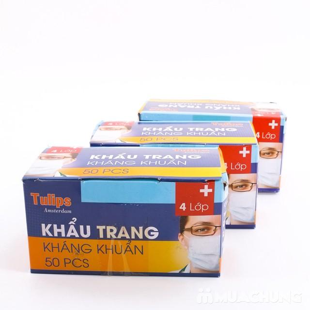3 hộp khẩu trang y tế kháng khuẩn cao cấp - 3