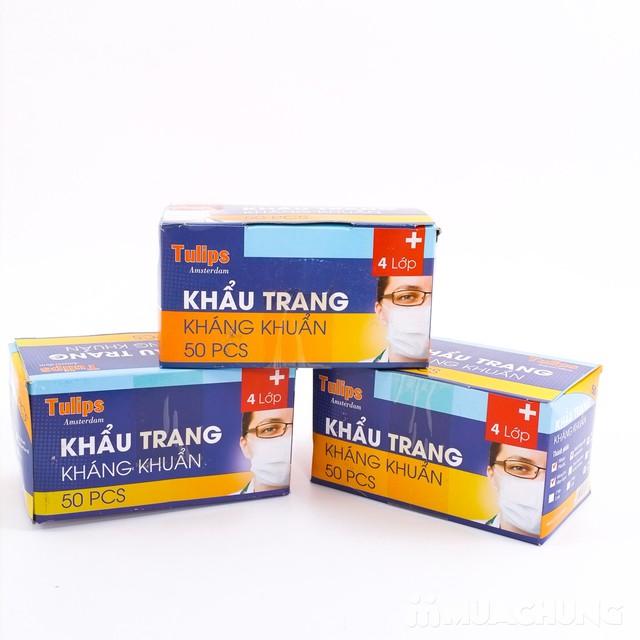 3 hộp khẩu trang y tế kháng khuẩn cao cấp - 2