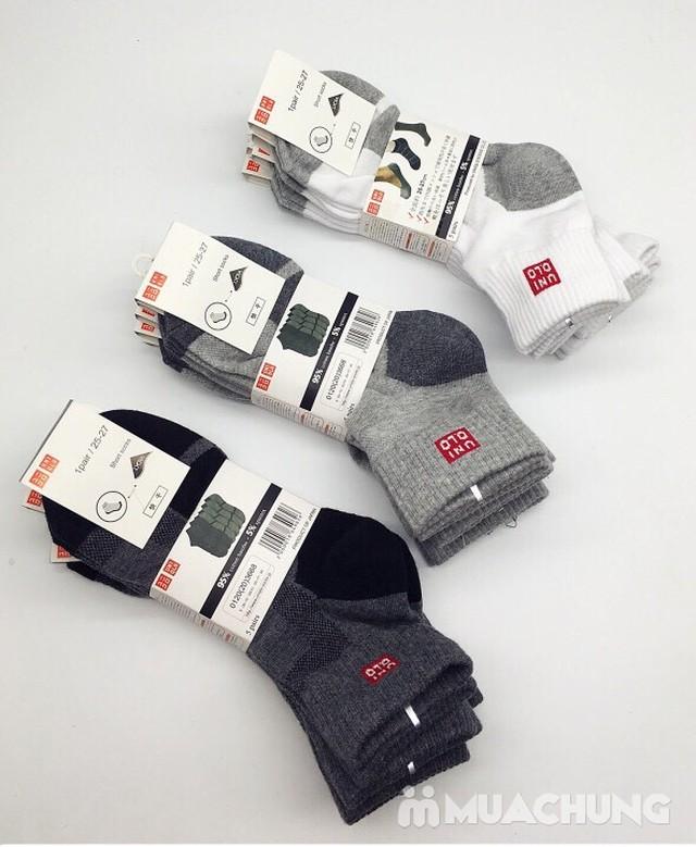 Combo 5 đôi tất nam Uni cổ trung Nhật Bản - 2